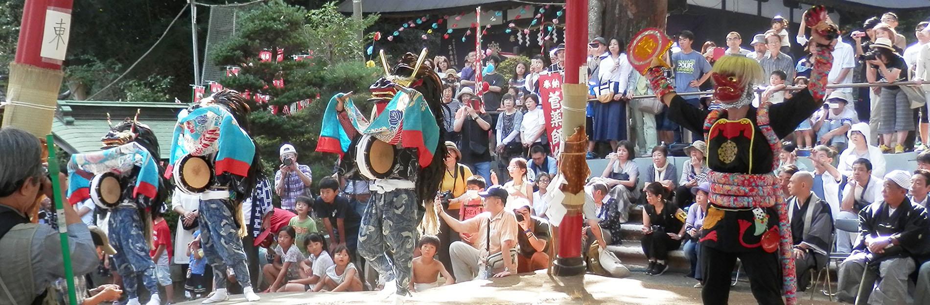 菅の無形文化財 獅子舞